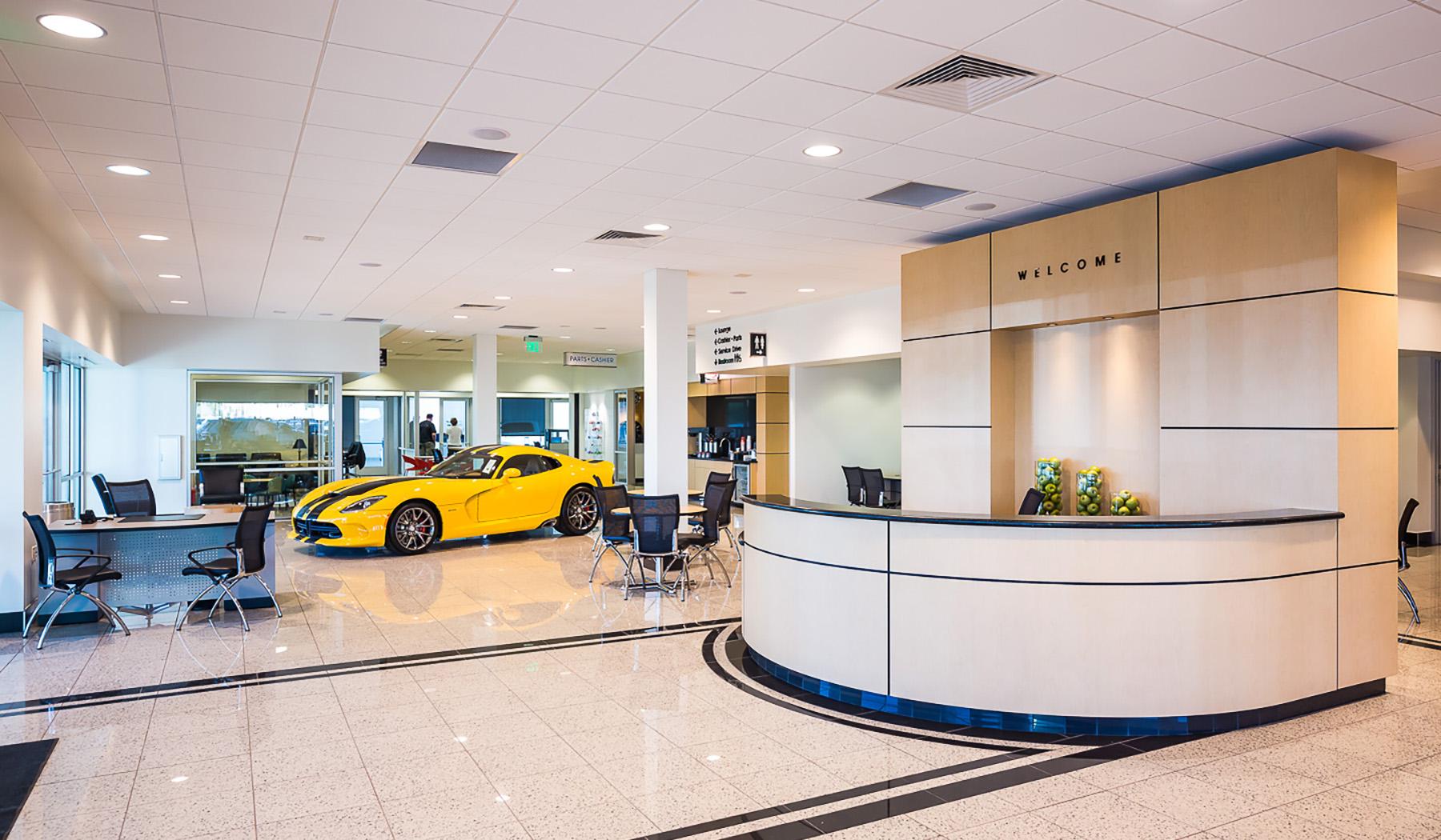 Jim Click Chrysler/Jeep And Dodge Renovations