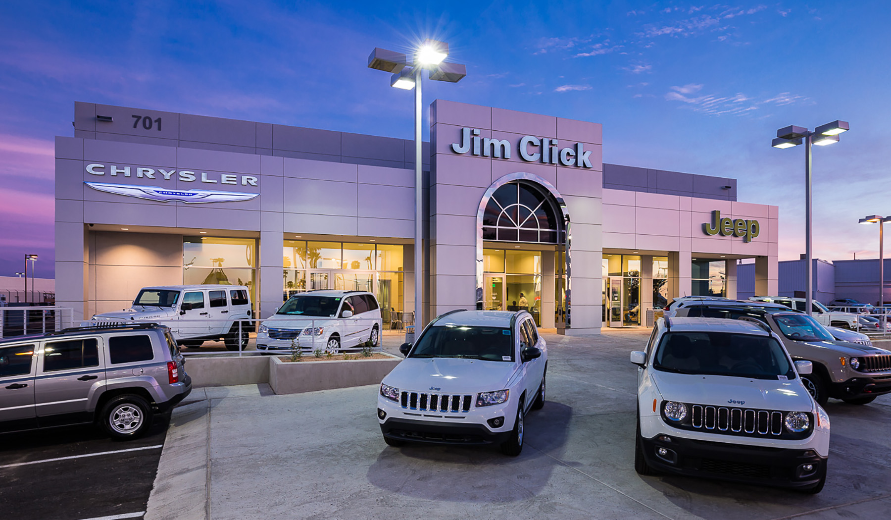 Attractive Jim Click Chrysler/Jeep And Dodge Renovations